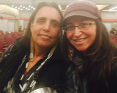 Winona LaDuke, who woke me up, fast, in one lecture.